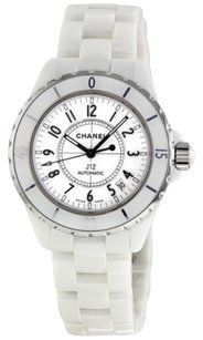 Chanel CHANEL J12 White Ceramic Automatic Midsize Watch H0969