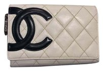 Chanel Chanel lambskin quilted wallet