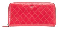 Chanel Chanel Red Quilted Wallet