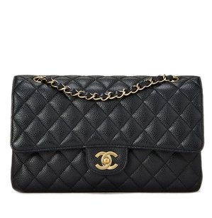 Chanel Vintage Classic Flap Caviar Shoulder Bag