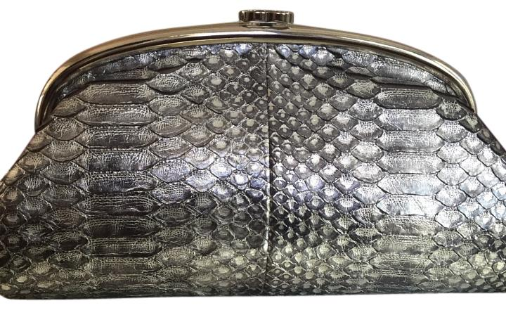 Chanel Limited Edition Python Timeless Kisslock Clutch