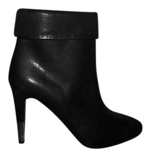 Chanel 13b Leather Black Boots