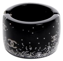 Chanel Floating Pearl Resin Cuff