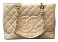 Chanel Gst Tote in Beige