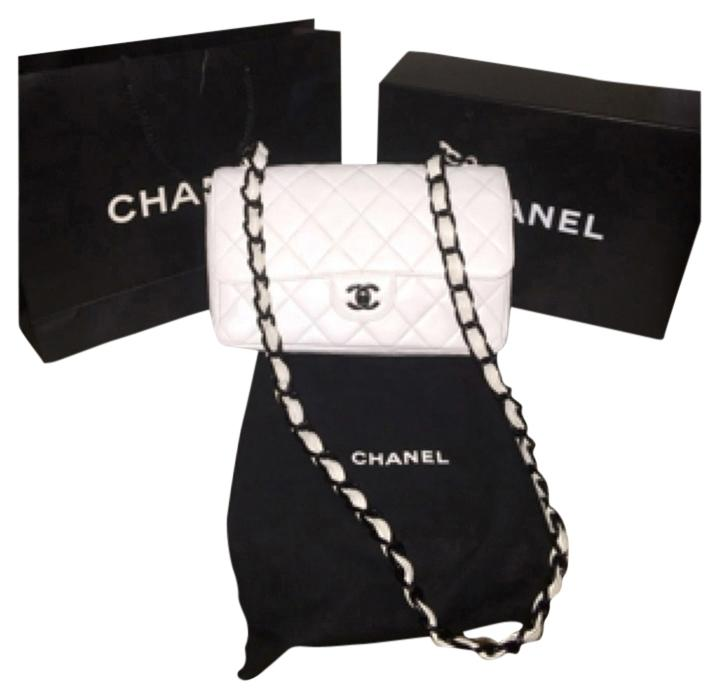 black and white chanel bags. chanel lambskin exclusive leather cross body bag. chanel. black \u0026 white and bags k