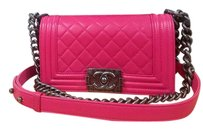 Chanel Le Pink Hot Pink Cross Body Bag