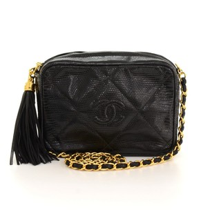 Chanel Leather Fringe Shoulder Bag
