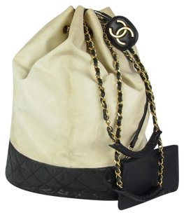 Chanel Leather Lambskin Chain Shoulder Bag