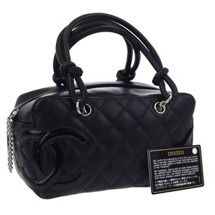 Chanel Leather Black Shoulder Bag