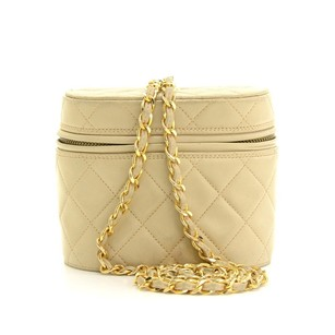 Chanel Leather Pochette Shoulder Bag