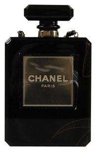 Chanel Limited Edition Perfume Bottle Clutch Shoulder Bag