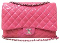 Chanel Maxi Double Flap Vernis Shoulder Bag