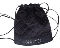 Chanel Mini Satin Suede Backpack