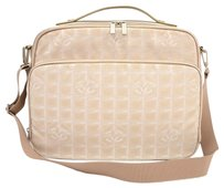 Chanel Nylon Beige Travel Bag