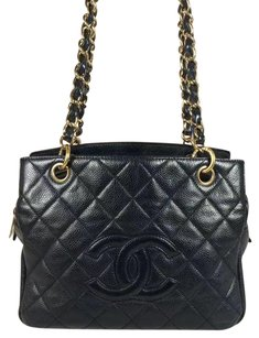 Chanel Petite Timeless Pst Tote in Black
