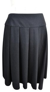 Chanel Wool Cashmere Skirt Black