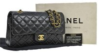 Chanel Quilted Cc Double Flap Shoulder Bag