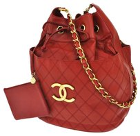 Chanel Quilted Cc Logos Chain Shoulder Bag