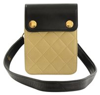 Chanel Quilted Leather Clutch