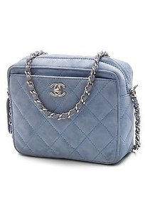 Chanel Vintage Satchel in Light blue
