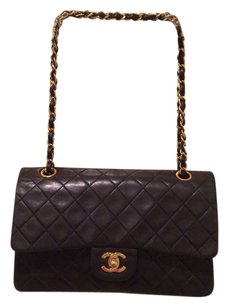 Chanel Double 2.55 Lambskin Classic Shoulder Bag