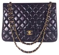 Chanel Single Flap Maxi Jumbo Shoulder Bag