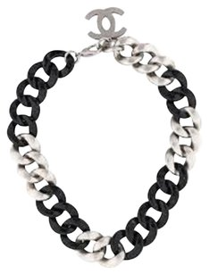 Chanel 2007 Spring/Summer Limited Runway Edition Chainlink Colier
