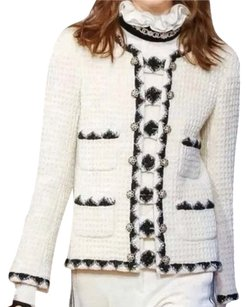 Chanel Black and ivory Jacket