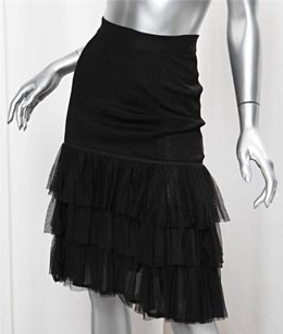 Chanel Boutique Womens Skirt Black