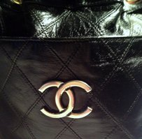 Chanel Vintage Cavier Leather Cross Body Bag