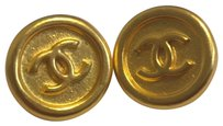 Chanel Vintage Goldtone Chanel Buttons