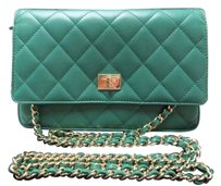 Chanel Woc Woc Clutch Wallet On Chain Cross Body Bag