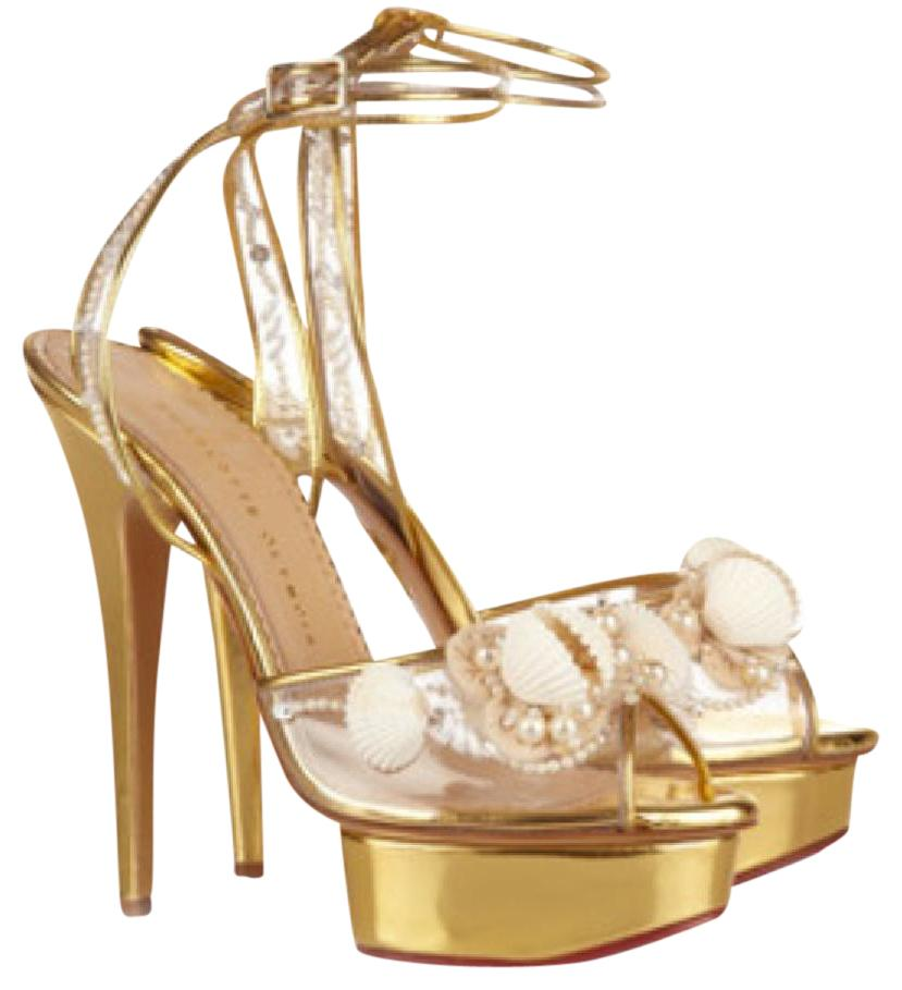 Charlotte Olympia Embellished Platform Sandals cheap sale best seller buy cheap pictures free shipping order discount visa payment rBPvA