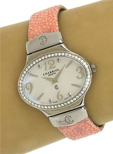 Charriol Philippe Charriol Diamond Bezel Stainless Steel Oval Ladies Wrist Watch Quartz