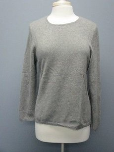 Charter Club Cashmere Long Sleeves Scoop Neck Solid Sma 5302 Sweater