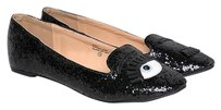 Chase & Chloe Closed-toe Black Flats