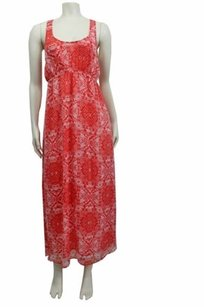 coral white Maxi Dress by Chaser Tribal