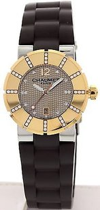 Chaumet Ladies Chaumet Class One 18k Yellow Gold And Diamonds