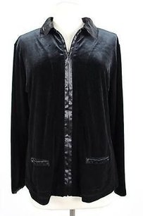 Chico's Chicos Womens Basic Black Jacket