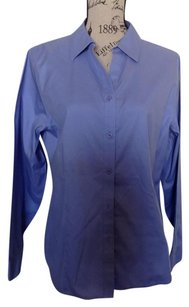 Chico's Button Down Shirt Periwinkle
