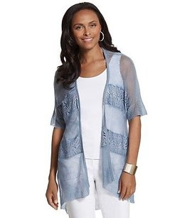 Chico's Chicos Duster Larkyn Sweater