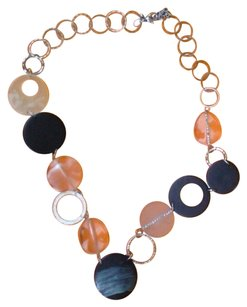 Chico's CHICO'S Vintage Playful Disc Necklace Orig. $69