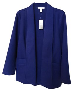 Chico's Classic Chic Soft Blue Royal blue Jacket