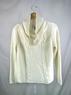 Chico's Chicos Cabled Sweater