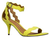 Chinese Laundry Ankle-strap Heels-and-pumps Low-mid-heel Rubielimemicrosue-7.5 Yellow Sandals