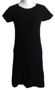Chloé short dress Black 100% Wool Mini Short Sleeve on Tradesy