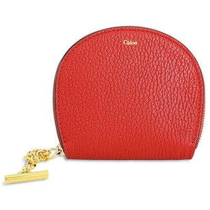 Chlo Chloe Coin Purse Red Tote