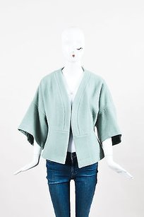 Chlo Chloe Grey Green Wool Blend Gray Jacket
