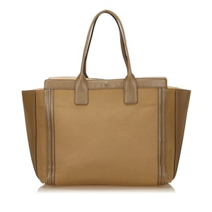 Chloé Beige Brown Fabric 6fclto001 Tote