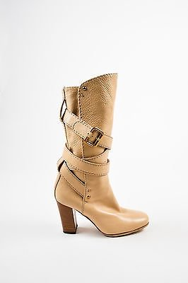 Chloé Mid-height, In Leather.